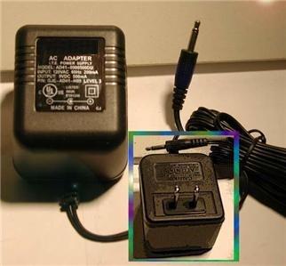 AC Power Supply Adapter Plug Cord For Atari 2600 NEW