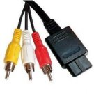 SNES SUPER NINTENDO N64 GAMECUBE AUDIO VIDEO AV CABLE