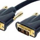 NEW Monster 6.5ft / 2m HDTV Gold Cable DVI400-2M DVI-D