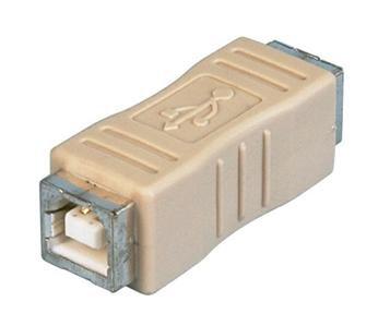 USB 2.0 Type B Female to B Female Gender Changer