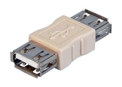 USB 2.0 Type A Female to A Female Gender Changer