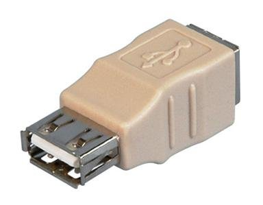 USB 2.0 Type A Female to B Female  Gender Changer