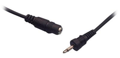 3 FT 3.5mm JACK AUDIO STEREO EXTENSION CABLE CORD M/F