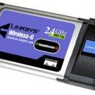 NEW Linksys Wireless G WiFi Notebook PCMCIA Card