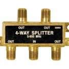 Philips Mega Splitter 1Ghz 4-way digital HDTV