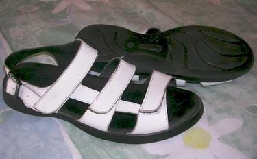 Womens Wolky White Sandals Sz 41 Eur - 9 USA