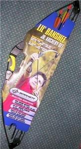 Barnett Lil' Banshee Bow Jr. Compound Archery Set - New