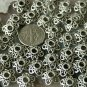 30pcs Antique Silver Plated Bali Flower Bead Caps 12mm a142