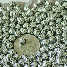 70pcs Antique Silver Plated Bali Spacer Beads 5.5mm a226