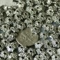 18pcs Antique Silver Plated Bali Flower Bead Caps 8mm a141