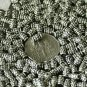 90pcs Antique Silver Plated Bali Raised Dot Beads a165