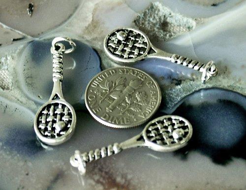 16pcs Antique Silver Plated Bali Charm Pendant a128