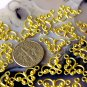 50pcs Raw Brass Filigree Charms Connector Beads Finding 18x11mm b34