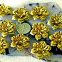 8pcs Raw Brass Stamping Filigree Flowers Finding 26mm bf33