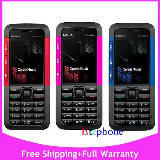 NEW UNLOCKED NOKIA 5310 Xpress Music AT&T T-Mob. CELL PHONE
