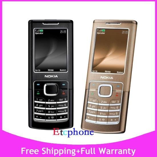 New 3G Nokia 6500c 6500 Classic  UNLOCKED ATT T-Mobile Cell Phone