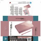 New Pink nintendo ds lite console system in box