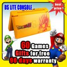 Nintendo Yellow Dragonball DS LITE NDSL Console+60 Game