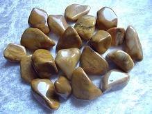 Yellow Jasper Tumbled Stone