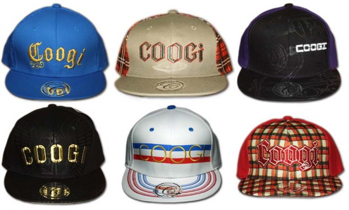 Assorted Fitted Caps by Coogi