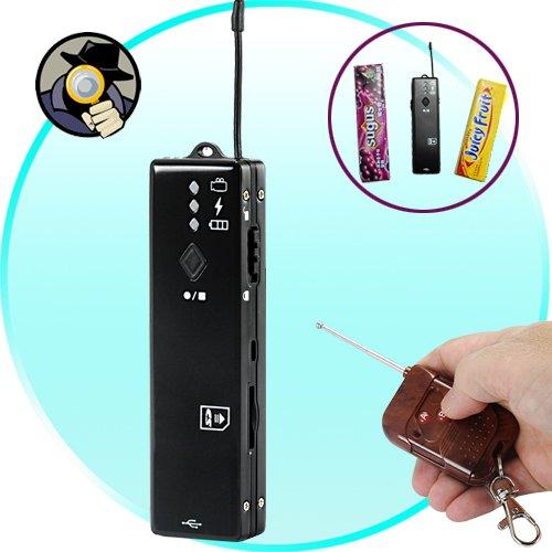 Remote Activated Mini Spy Camera (Gum Wrapper Sized)