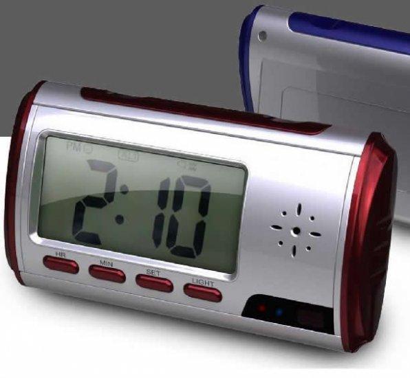 DVR CAMERA CLOCK digital voice record pinhole cam spy i