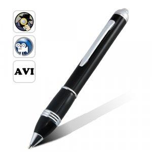 NEW Spy Pen Pinhole Video Camera (Motion Detection, Micro SD)