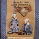 Broomcover & Doorstop Lucas & Lottie Lamb Pattern