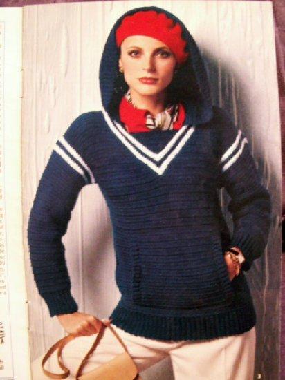 Adult Knit Sweaters  Coats & Clark #271  Free Ship