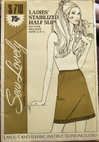 Stabilized Half Slip Pattern by Laverne Devereaux - FREE SHIPPING