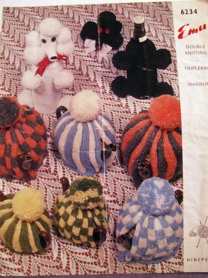 Emu Wools Knit Pattern Leaflet - FREE SHIPPING