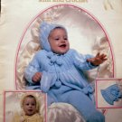 Baby's Book Knit & Crochet VINTAGE Gorgeous Outfits!