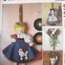 Broom Dolls Pattern - FREE SHIPPING