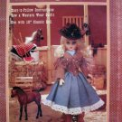 Doll Clothes Pattern  Western Gal FCM 356 - FREE SHIPPING