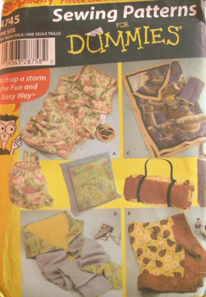 Quilt & Pillow in a Bag Pattern S4745 - FREE SHIPPING