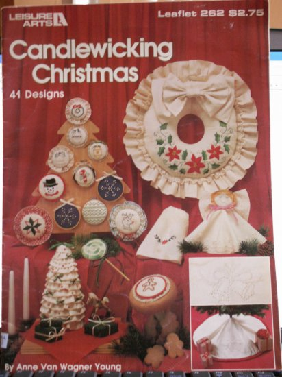 Candlewicking Christmas Pattern - FREE SHIPPING