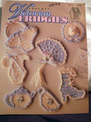 Crochet Victorian Fridgies - FREE SHIPPING