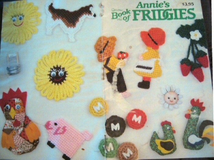 Annie's Book Of Fridgies  1983 15 Page FREE SHIPPING
