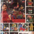 Merry Christmas Makers  Butterick 6342 Ornaments Train Pattern - FREE SHIPPING