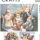 Bunny Picnic McCall's 8607 Just In Time For Easter! - FREE SHIPPING