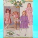Original Butterick Cabbage Patch Doll Pattern #4151 GIRLS & DOLL MATCHING PATTERN  FREE SHIPPING