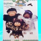 Original Butterick Cabbage Patch Doll Pattern #6984  FREE SHIPPING