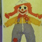 Learning Doll & Transfer Pattern Vintage & Hard To Find  FREE SHIPPING