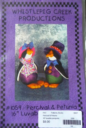 Penguin Pattern Uncut -FREE SHIPPING
