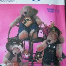 Bears with Clothes S 7355  FREE SHIPPING