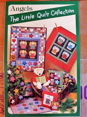 Angels - The Little Quilt Collection 8 projects FREE SHIPPING
