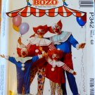 Bozo The Clown Costume Pattern child 6-8 Rare Collector  FREE SHIPPING