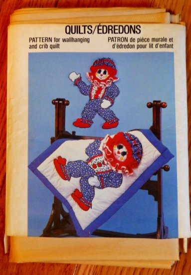 Cracker Jackie Quilt & Wall Hanging pattern  Rare, Hard to Find  FREE SHIPPING