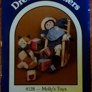 Dream Spinners Doll & Quilt pattern #128 Molly's Toys FREE SHIPPING
