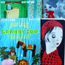 Four Aunt Lydia's Heavy Rug Yarn Books/Leaflets  FREE SHIPPING